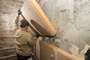 binnenmuur isolatie houtvezelplaat
