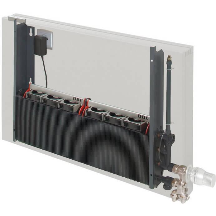 Jaga DBE ventilator LTV-verwarming